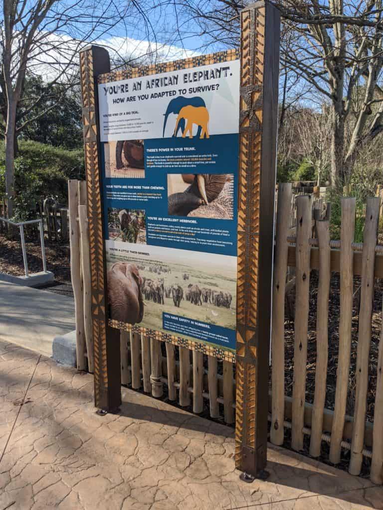 Zoo Atlanta Signage