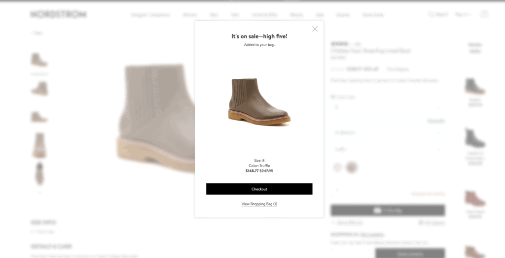 nordstrom example