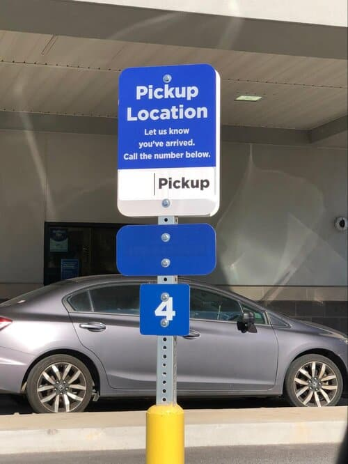 Pick up (Grocery Pickup)